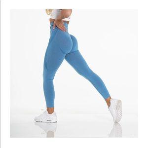 NVGTN contour seamless leggings - sky blue